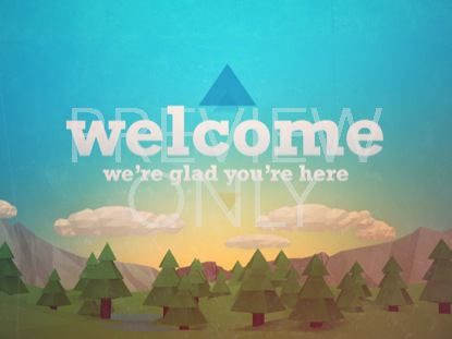 OUTDOORS WELCOME STILL