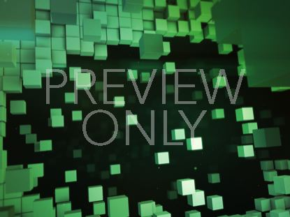 BLOCK SCAPE TITLE BACKGROUND GREEN STILL