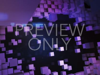 BLOCK SCAPE TITLE BACKGROUND PURPLE STILL