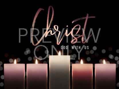 ADVENT CANDLELIGHT CHRIST