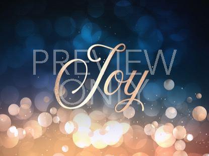 CHRISTMAS BOKEH JOY