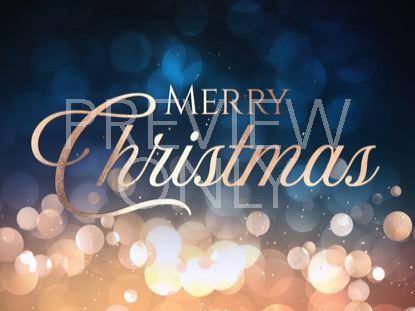 CHRISTMAS BOKEH MERRY CHRISTMAS