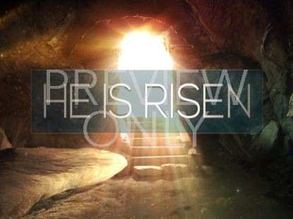 EASTER ALIVE HE IS RISEN STILL
