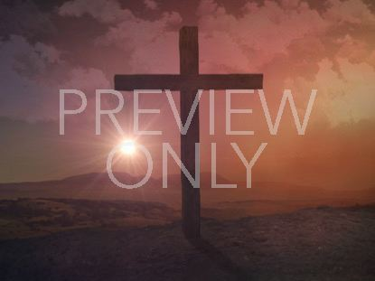 EASTER RISEN 3 CROSS
