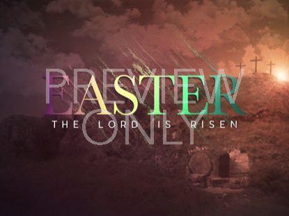 EASTER RISEN EASTER TITLE
