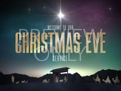 NATIVITY CHRISTMAS CHRISTMAS EVE STILL