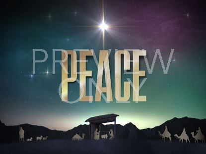 NATIVITY CHRISTMAS PEACE STILL