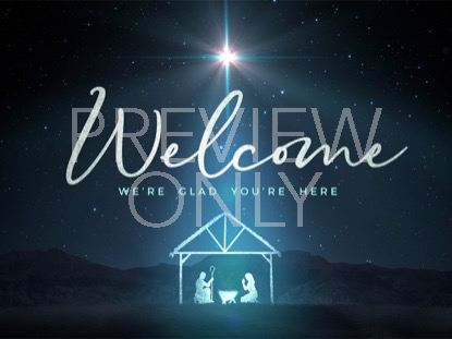 STARLIGHT NATIVITY WELCOME