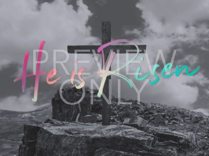 THE CROSS HE IS RISEN STILL