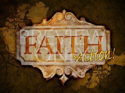 FAITH IN ACTION - SET OF 3