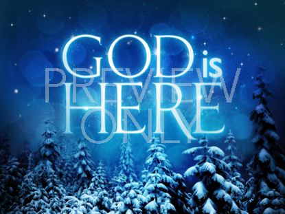 GOD IS HERE STILL