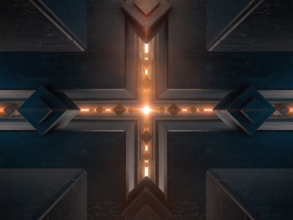 CHROMATIC TUNNEL CROSS