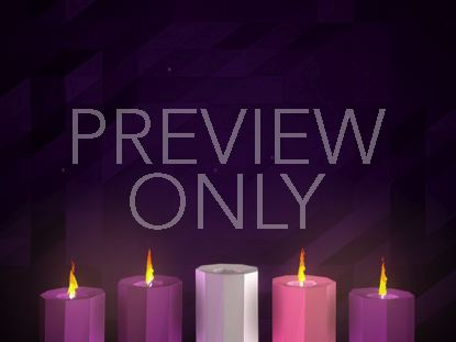 DIGITAL ADVENT CANDLES WEEK 4