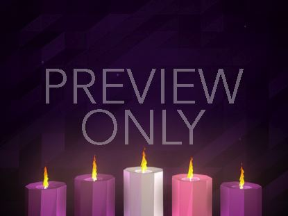 DIGITAL ADVENT CANDLES WEEK 5