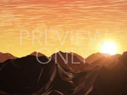 DIGITAL MOUNTAINS SOARING SUN