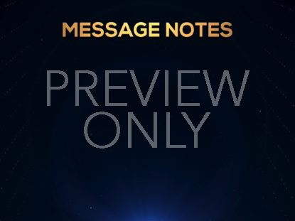 GOLDEN DRIFT MESSAGE NOTES