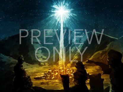 HOLY NIGHT WISE MEN BETHLEHEM