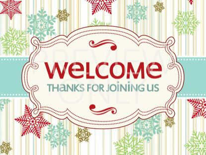 VINTAGE HOLIDAY WELCOME