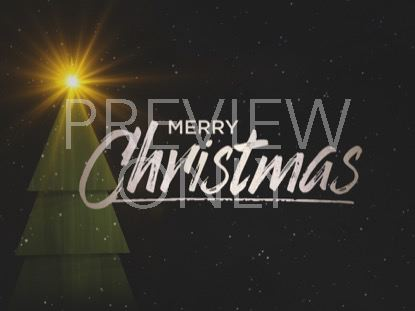 WINTER LIGHT MERRY CHRISTMAS