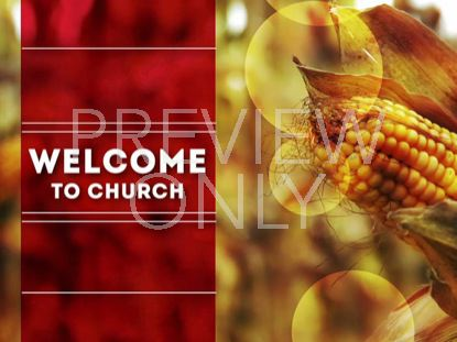 CORN WELCOME STILL
