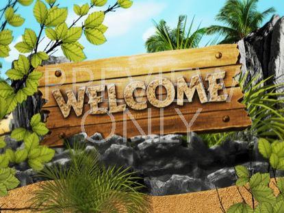 ADVENTURE ISLAND WELCOME STILL