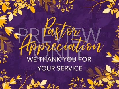 AUTUMN BREEZE PASTOR APPRECIATION STILL