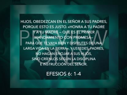 AWESOME DADS SCRIPTURE STILL - SPANISH