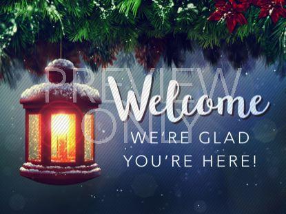 CHRISTMAS CAROL WELCOME STILL