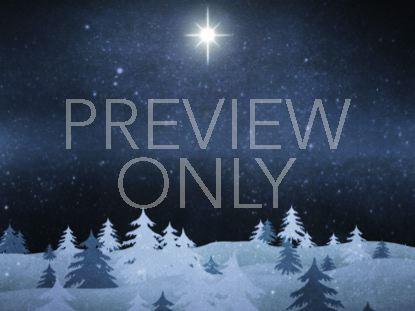 CHRISTMAS FOREST BLUE 1 STILL