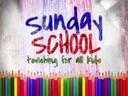 COLOR PENCILS SUNDAY SCHOOL STILL