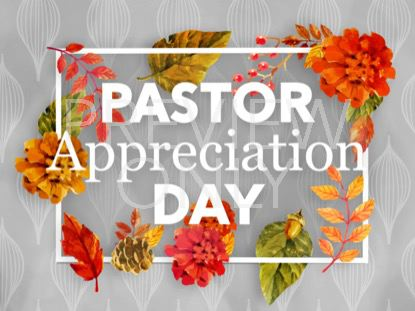 COLORS OF FALL PASTOR APPRECIATION STILL