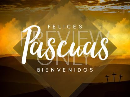 EASTER HILLS RISEN STILL - SPANISH