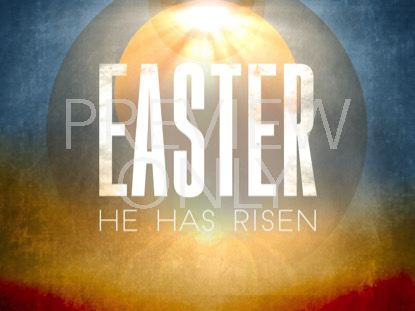 EASTER HORIZON RISEN STILL