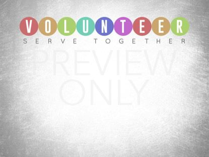 EVENT PLANNER VOLUNTEER STILL