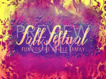 FALL FOLIAGE FESTIVAL STILL