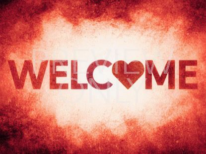 GOD IS LOVE WELCOME STILL