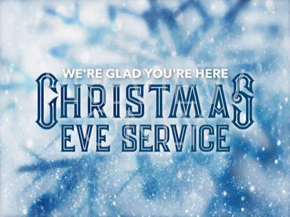 ICY CHRISTMAS EVE STILL