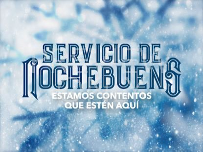 ICY CHRISTMAS EVE STILL - SPANISH