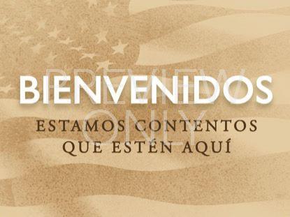 MEMORIAL BADGE WELCOME STILL - SPANISH
