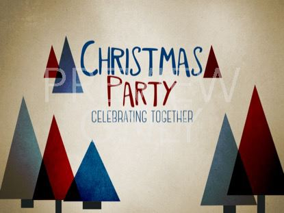 MODERN CHRISTMAS PARTY STILL