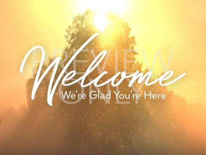 ONLY CHRIST WELCOME STILL