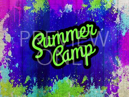 PAINTED JOY SUMMER CAMP STILL