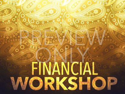 PAISLEY FINANCIAL WORKSHOP STILL