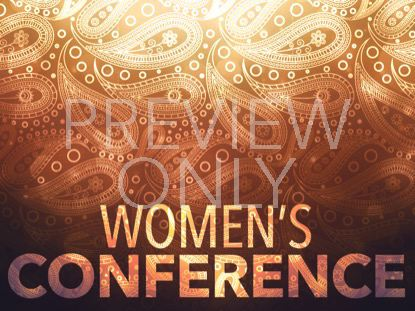 PAISLEY WOMENS CONFERENCE STILL