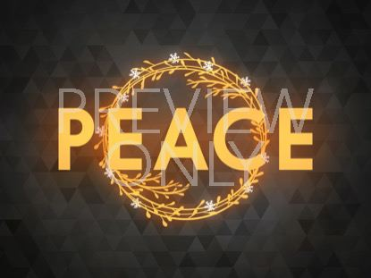 PEACEFUL ADVENT PEACE 1 STILL