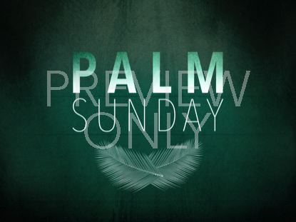 REDEMPTION PALM SUNDAY STILL