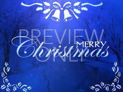 SAPPHIRE CHRISTMAS MERRY CHRISTMAS STILL