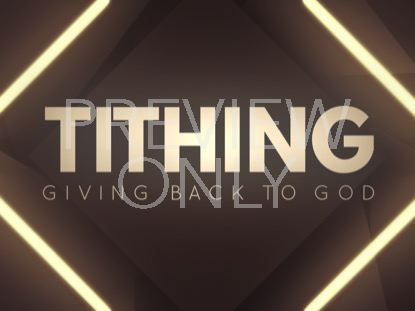 SHIFTING GEOMETRY TITHING STILL