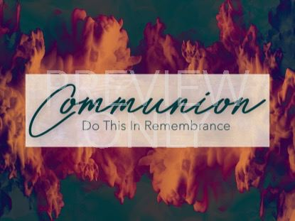 SPIRIT OF PENTECOST COMMUNION STILL