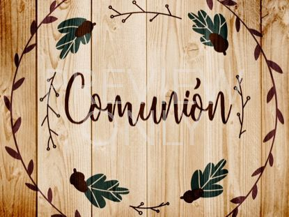 THANKSGIVING ART COMMUNION STILL - SPANISH